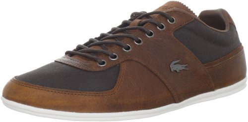 Lacoste Men's Taloire 6 Oxford,Dark Brown/Tan,10 M US