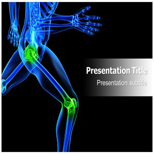 Knee orthopedic powerpoint template knee for Orthopedic templating software