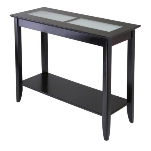 Image of Syrah Console/Hall Table with Frosted Glass (B004I5DFO6)