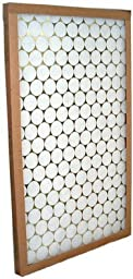 Glasfloss Industries PTA22221 PTA Series Heavy Duty Disposable Panel Air Filter, 12-Case