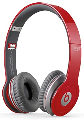 Beats Solo? HD RED Edition Over-Ear Headphones