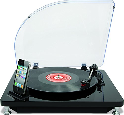 ION iLP Digital Conversion Turntable for iPhone, iPad and iPod touch