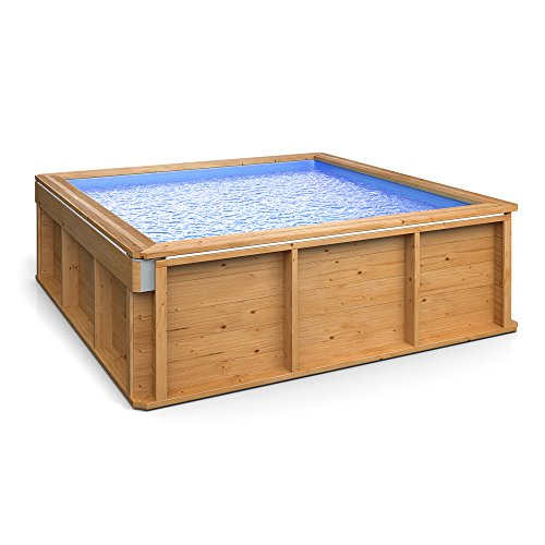 Pool aus holz was for Schwimmbecken holz