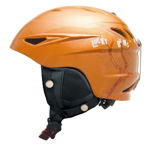 lucky-bums-jouet-alpine-series-casque-de-ski-cherry-blossom-petit-orange-orange