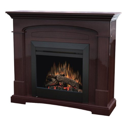 DIMPLEX ELECTRIC TRANSITIONAL CURVED FIREPLACE - DFP23-1107MB photo B005G0ZP54.jpg