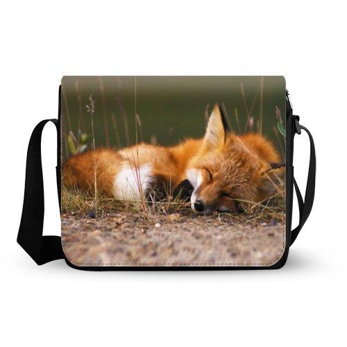 Sleeping Fox Messenger Bag