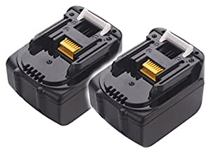 ◆1年長期保証◆2個セット マキタ MAKITA 互換バッテリー BL1430 Samsungセル搭載 【ノーブランド品】 (14.4V  3000mAh (3.0Ah))