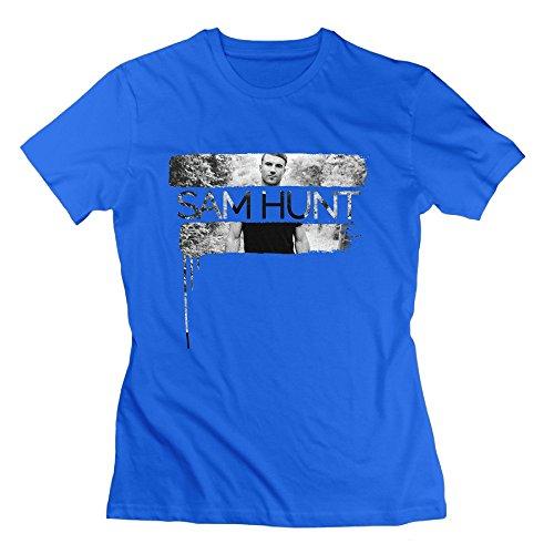 Nana-Custom Tees -  T-shirt - Donna blu L
