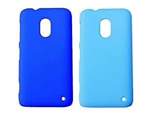 Winsome Deal 2 Pieces of Exclusive Quality Hard Back Cover Case For Nokia Lumia 620