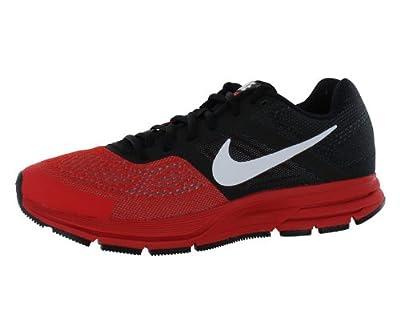 b73610540b255 Hot Nike Men s Air Pegasus+ 30 Black White Lt Crimson Running Shoe 12 Men US