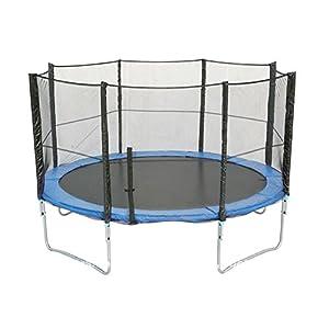 Filet de sécurité de rechange pour trampoline de Ø396 - 400 cm 8barres-- Filet seulement , Sans Trampoline ni Armature ni coussin