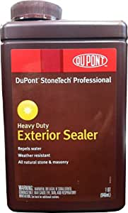 Stonetech Wbs12 32 Heavy Duty Exterior Stone And Masonry Sealer 1 Quart Diy Tools