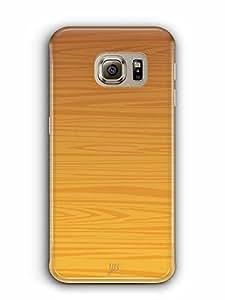 YuBingo Wood Finish (Plastic) Designer Mobile Case Back Cover for Samsung Galaxy S6 Edge