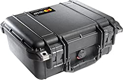 Pelican 1400 Case with Foam for Camera (Black)