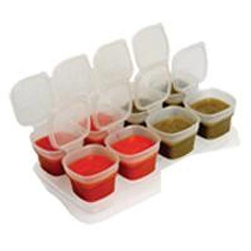2oz. Baby Cube Containers, 8 pack (PVC & Lead Free) - 1