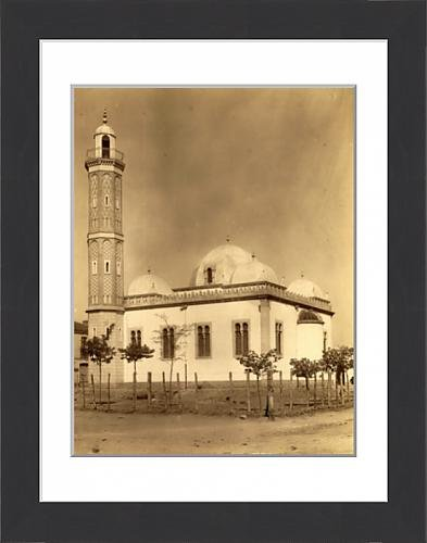 framed-print-of-sidi-bel-abbes-mosque-algiers-neurdein-brothers-1860-1890-the-neurdein