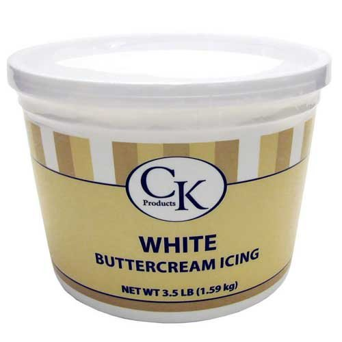CK Products CK Products White Buttercream Icing , 3.5 Lbs