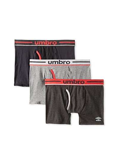 Umbro Men's 3 Pack Boxer Briefs
