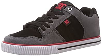 Dc COURSE M SHOE XSKR, Chaussons Sneaker Homme - Multicolore (GREY/BLACK/RED), 41 EU