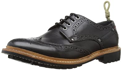 Duck and Cover Mens Snickers Black Brogue DAC30003010107 7 UK, 41 EU