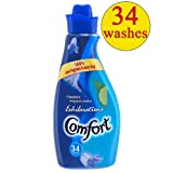 Comfort Exhilarations Bluebell Fabric Conditioner 34 Wash 4x1.2L