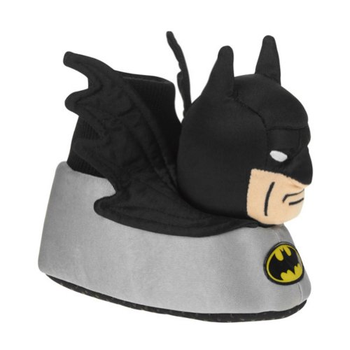 Dc Comics Toddler Boys Batman Slippers Sock Top Character House Shoes Size 7-8