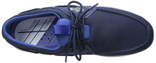 Lacoste Men's L.Andsailing 316 3 Spm Boat Shoe, Navy, 10 M US