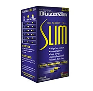 Duzoxin Slim Weight Loss Diet Pills 90 Ct by Scilabs