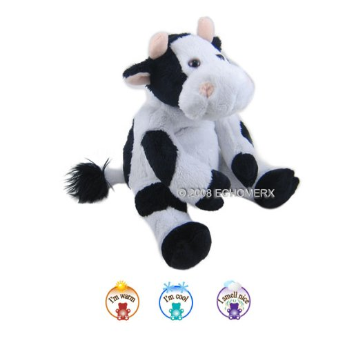 Aroma Cow - Aromatherapy Stuffed Animal - Hot And Cold Therapy
