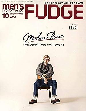 men's FUDGE - メンズ ファッジ - 2019年 10月号 Vol.116