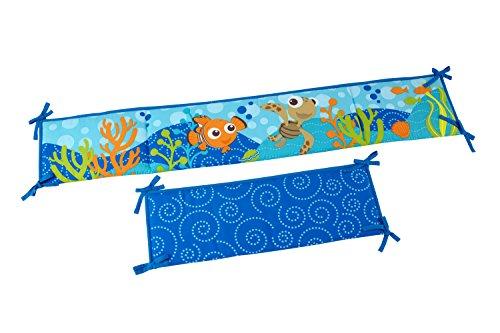 Disney Nemo Crib Traditional Padded Bumper