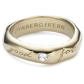 Dyrberg/Kern Dyrberg/ Kern - 332059 - Anillo de mujer de latón con 1 cristal anillo mujer barato woman cheap ring