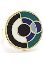 "Trina Turk ""Modern Geometrics"" Eclipse Ring, Size 7"