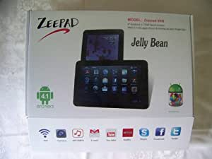 Worry Free Gadgets WFG-9XN-BLK 9 inch Zeepad 9XN All Winner Box Chip A23 Cotex A9 Dual Core Processor with 3000 battery BLACK