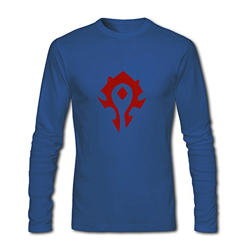 World of Warcraft Horde Symbol Spray For 2016 Boys Girls Printed Long Sleeve tops t shirts