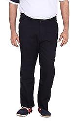 Xmex Men's Soft Denim Jeans (Neo-Crossd.Blue-46, Navy Blue, 46)