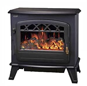 1850w Log Burning Flame Effect Stove Heater Electric Fire Fireplace Fan New