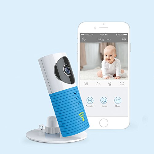 JTD ® Smart Wireless IP WiFi DVR Security Surveillance Camera with Motion Detector Two-way Audio & Night Vision Best Security Camera Baby Monitor for your Baby,Home, Pet or Business (Blue) (Send Picture compare prices)