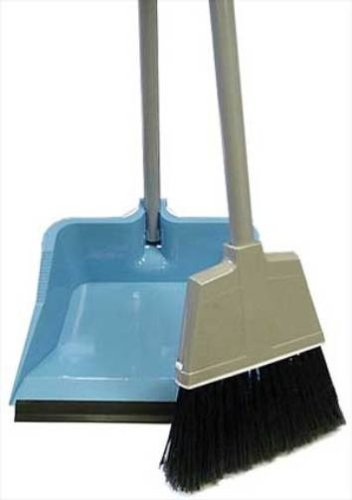 Quickie Flip Lock Dustpan And Broom New Free Shipping Ebay