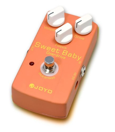"Joyo Jf-36 ""Sweet Baby"" A Low-Gain Overdrive Effect Guitar Pedal"