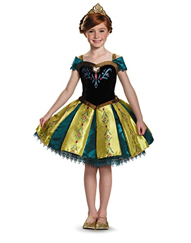 Frozen: Prestige Anna Coronation Gown Tutu Costume For Toddlers