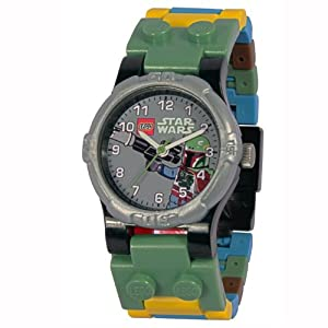 LEGO Kids' 9003363 Boba Fett Watch