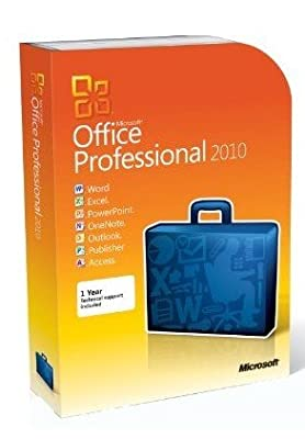Microsoft Office Professional 2010 - 2pc/1user