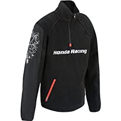 Joe Rocket Honda Racing Women's Fleece Sportswear Jacket - Black