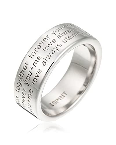 Esprit Ring Message Mania silber