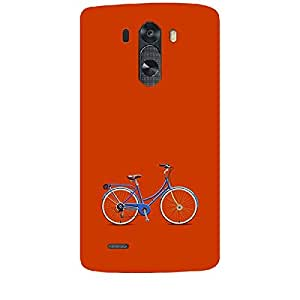 Skin4gadgets Cycle, Color - Red Phone Skin for LG G3 (D851,855,830)