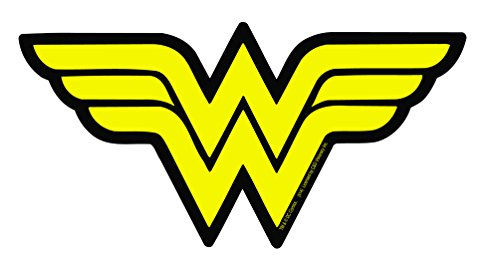 Licenses Products DC Comics Originals Wonder Woman Logo Sticker