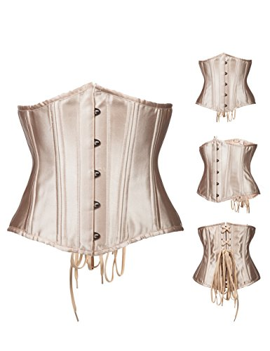 coolmee-womens-waist-shapewear-front-hooks-sexy-corset-apricot-xl