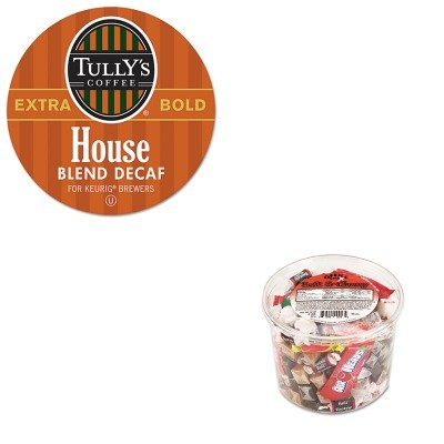 Kitgmt192519Ofx00013 - Value Kit - Green Mountain Coffee Roasters House Blend Decaf Coffee K-Cups (Gmt192519) And Office Snax Soft Amp;Amp; Chewy Mix (Ofx00013)