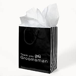 Groomsmen Gift Bags - 12 Bags
